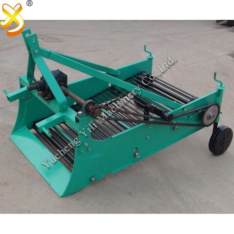 mini tractor potato harvester