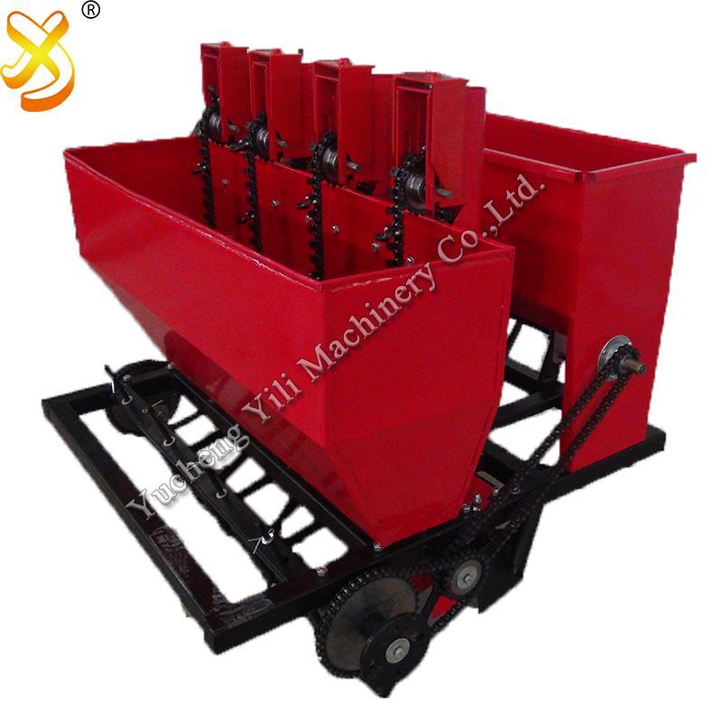 Planteur de pommes de terre de tracteur de deux rangées et machine de planteur d'ail