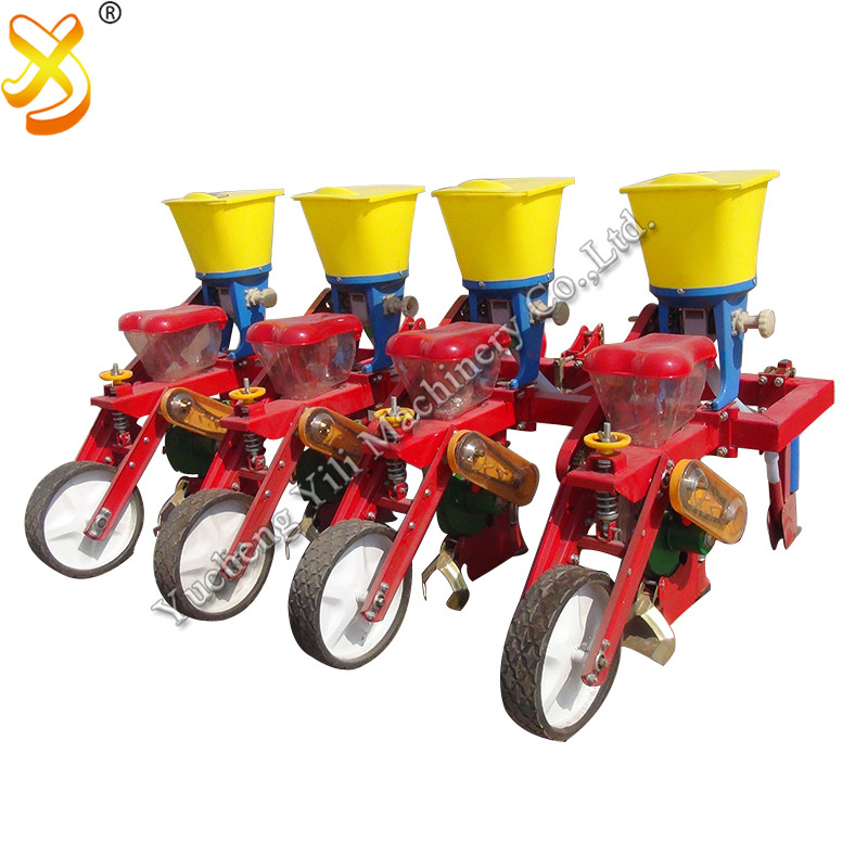 Corn Seeder With Fertilizing Machine