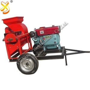 Corn Thresher On Sale High Quality Diesel Engine Corn Sheller Thresher
