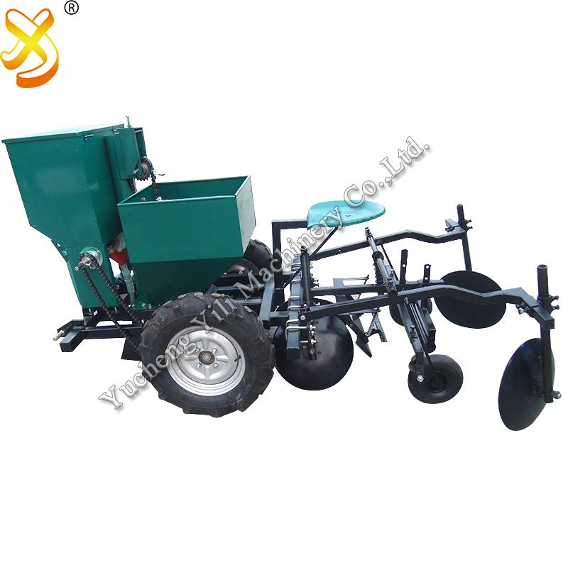 Potato Planting And Mulching Machine