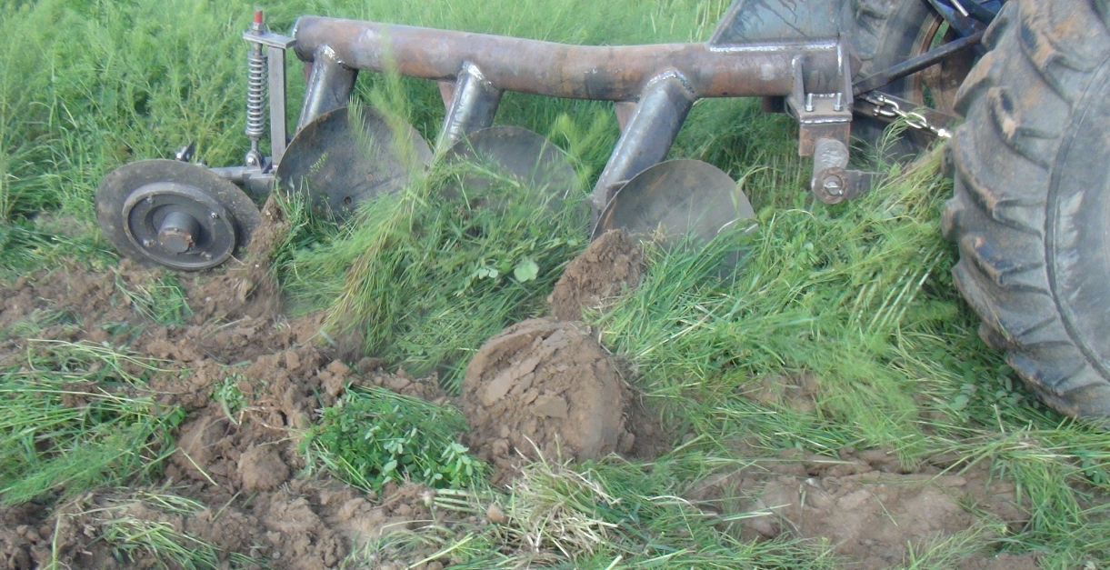 tube disc plough