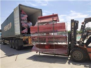 Rotary tillers are exported to eastern European countries
