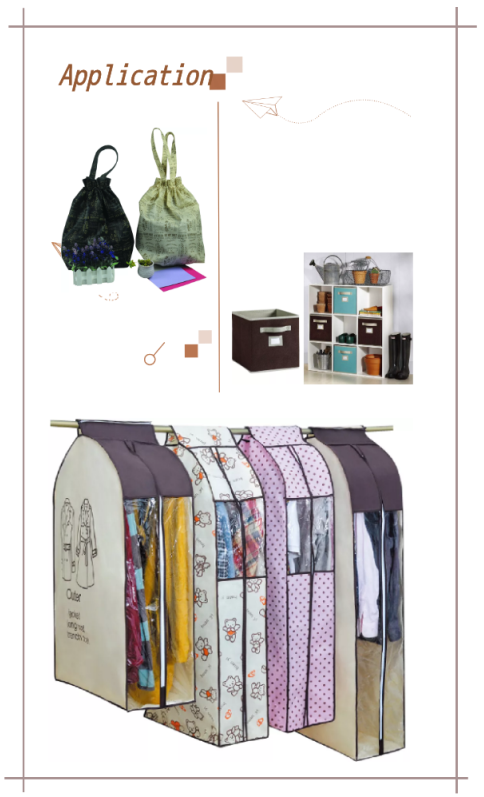 Shopping Bag With Shoulder Handle
