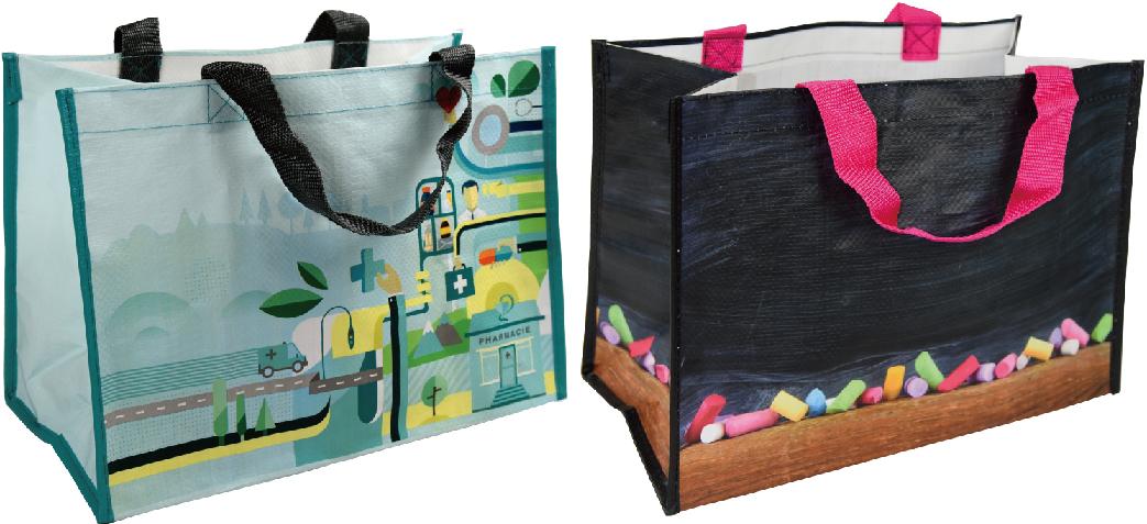 Sales PP Woven Laminated Shopping Bag