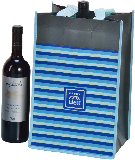 Supply PP Woven Wine Bag