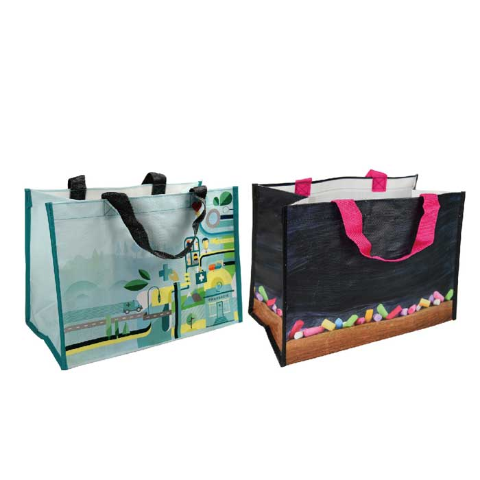 Sales PP Woven Laminated Shopping Bag, PP Woven Laminated Bag Factory, PP Woven Bags Supplier