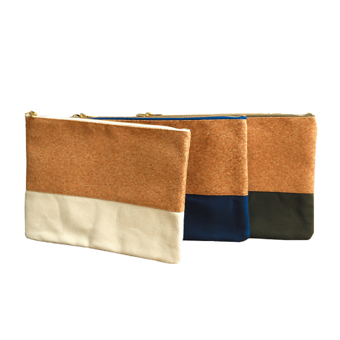 Cork Zipper Travel Bag