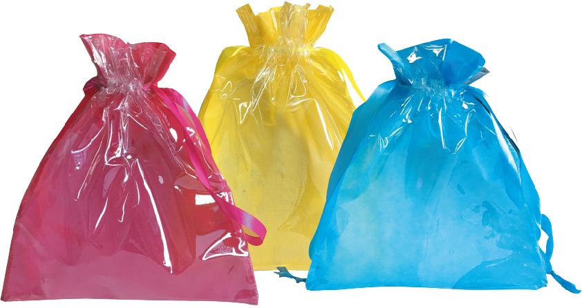 PVC drawstring bag