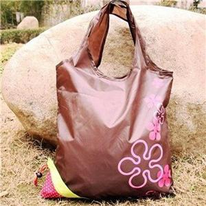 Strawberry style Quality 210D Polyester Folding Bag shopper
