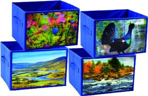 Custom Non-woven fabric 3D storage boxes