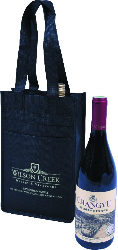 Promotion Eco-Friendly Non Woven 4 Bottle 6 bottles 2bottles custom wine bag