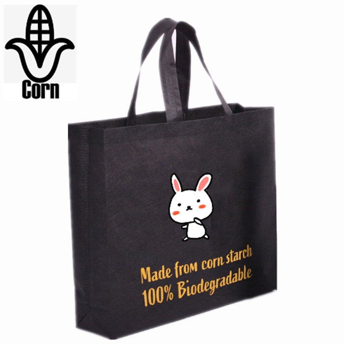 Wholesale Biodegradable PLA Corn Starch Non Woven Shopper Bag, Biodegradable PLA Corn Starch Non Woven Shopper Bag Manufacturers, Biodegradable PLA Corn Starch Non Woven Shopper Bag Producers