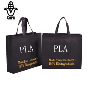 Biodegradable PLA Corn Starch Non Woven Shopper Bag