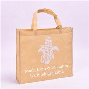 Biodegradable PLA Corn Starch Shopper Bag