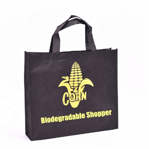PLA Nonwoven Bag Biodegradable Corn Starch Shopper