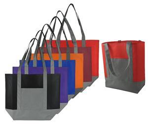 New style customized logo non woven shopping bag