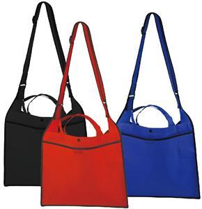 Wholesale PP Non Woven Messenger Custom shoulder Bag