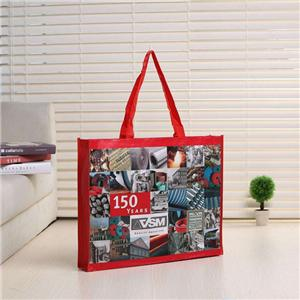 Customizable Laminated PP Woven Plastic Shopper