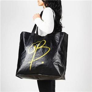Customizable Shopper Laminated PP Woven Plastic Tote Bag