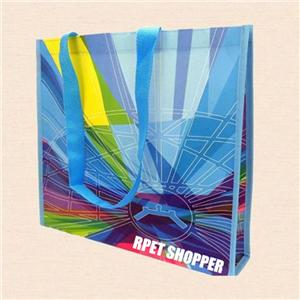 Customizable RPET Laminated Shopping Bag