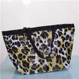 PP Woven Laminated Box Bag Handbag for Women