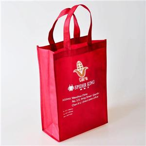 Customizable PLA Non Woven biodegradable Eco-friendly Corn Starch Bag Shopper