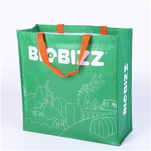 Customizable Shopper 100% Recycling RPET Laminated Shopping Bag