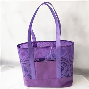 Non Woven With PU Tote Shopping Bag