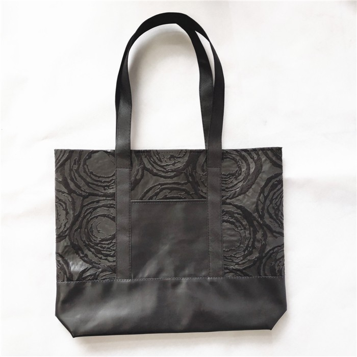 Wholesale Non Woven With PU Tote Shopping Bag Shopper, Non Woven With PU Tote Shopping Bag Shopper Manufacturers, Non Woven With PU Tote Shopping Bag Shopper Producers