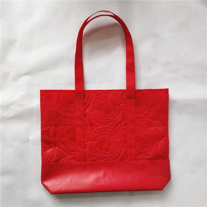 Wholesale Non Woven With PU Pocket Tote Shopping Bag Shopper, Non Woven With PU Pocket Tote Shopping Bag Shopper Manufacturers, Non Woven With PU Pocket Tote Shopping Bag Shopper Producers