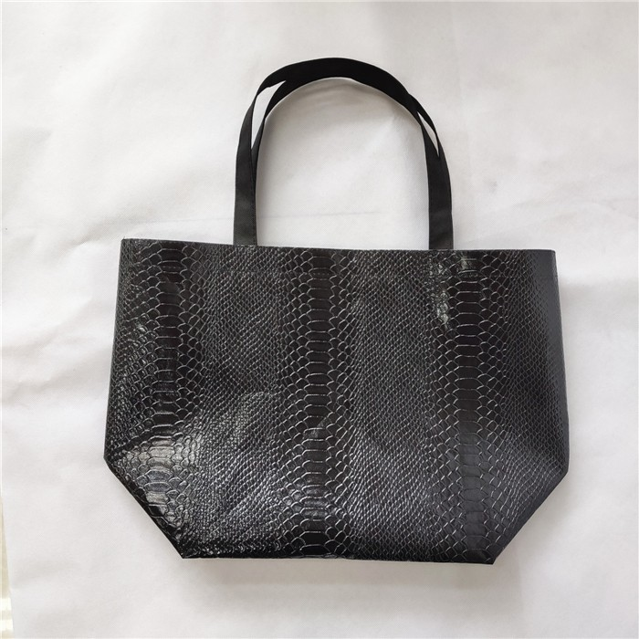 Wholesale Lminated Non Woven Snakeskin Pattern Tote Shopping Bag Shopper, Lminated Non Woven Snakeskin Pattern Tote Shopping Bag Shopper Manufacturers, Lminated Non Woven Snakeskin Pattern Tote Shopping Bag Shopper Producers