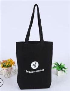 Logo Printed Eco-Friendly Cotton Canvas Tote Bag