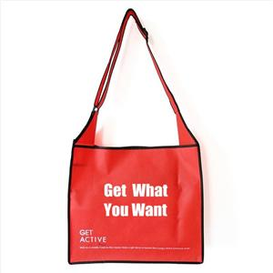Wholesale PP Non Woven long strap shoulder bag