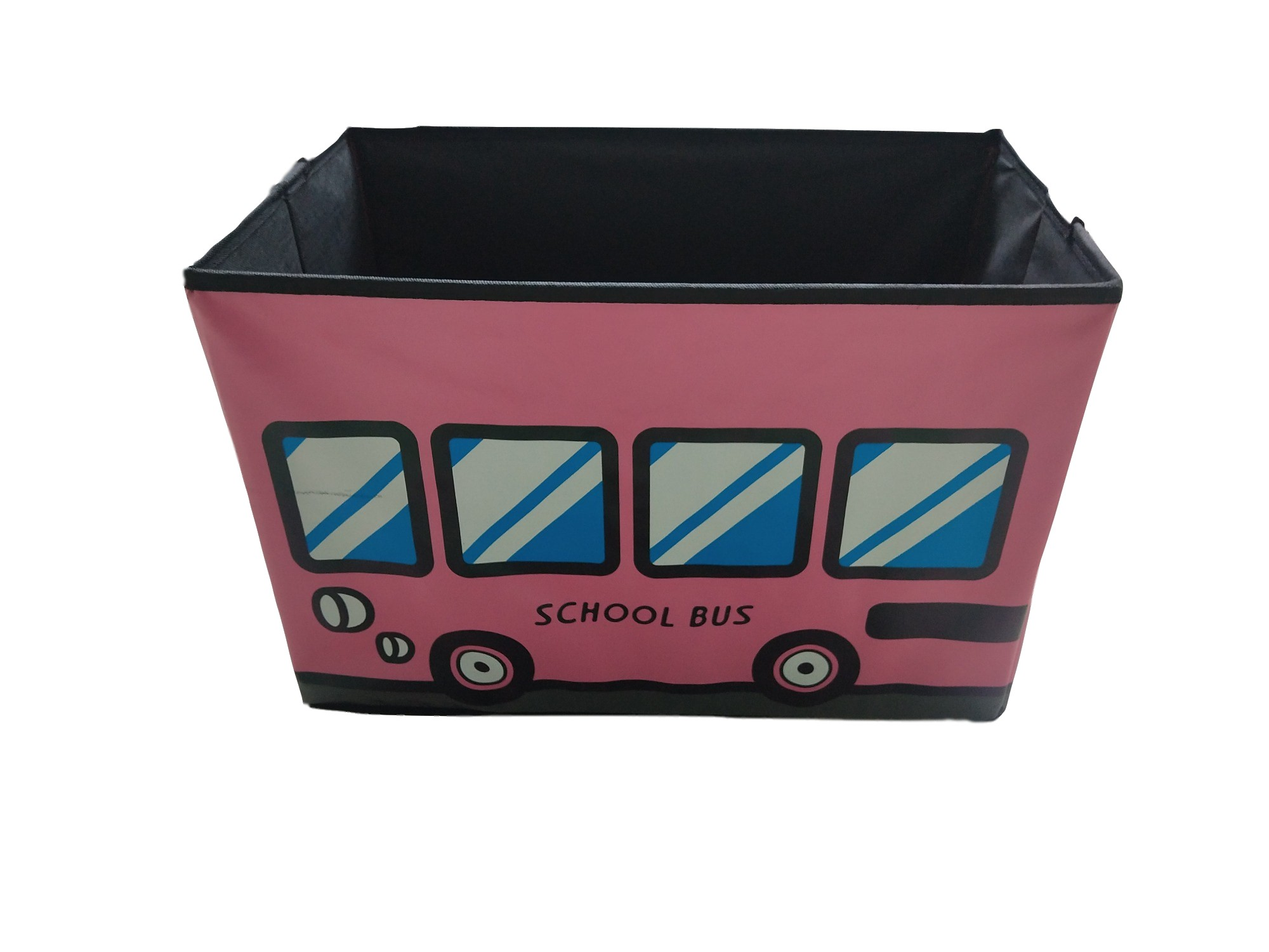 Cute Kids Toy Organizer Baby Clothing Folding Storage Box Non Woven Fabric Storage Cube Boxes