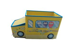 Cute Kids Toy Baby Clothing Folding Storage Box Non Woven Fabric Storage Cube Boxes