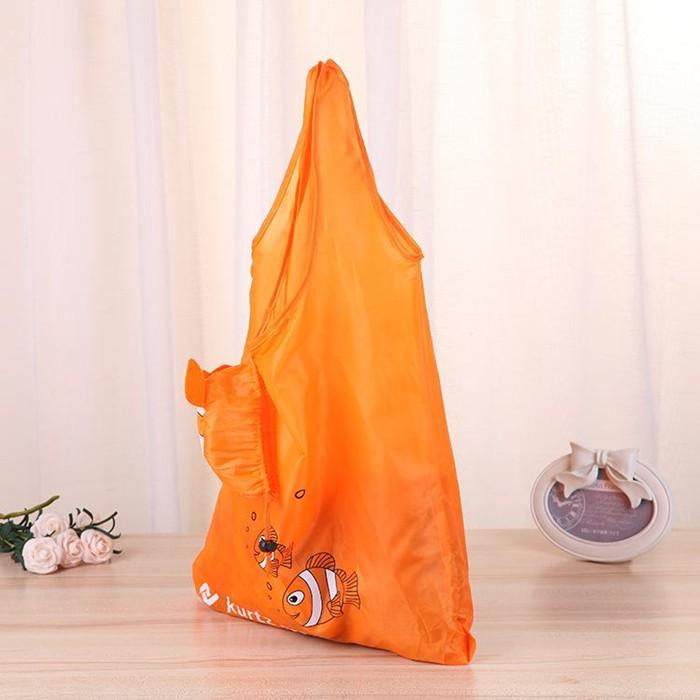 Customizable 210D Folding shopper Foldable Polyester bag