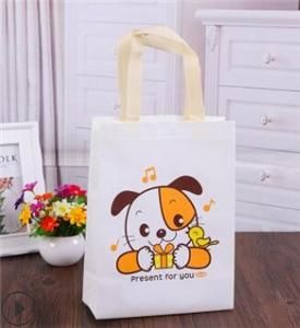 Custom Logo Cute Non Woven Bag Tote Shopping Bag