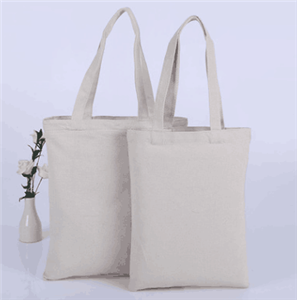 Custom Logo Printed Eco-Friendly Cotton Canvas Tote Bag