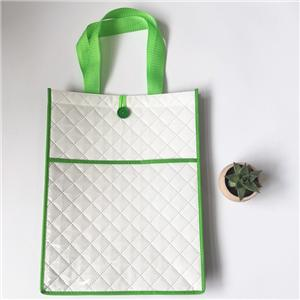 Customizable Pressed Laminated PP Non Woven Shopper Bag