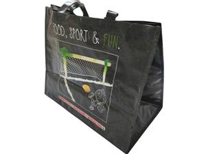 Custom Logo Laminated PP Woven Shopping Bag