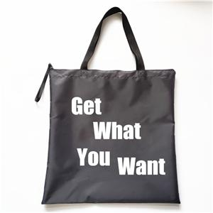 China Manufacturers New Design 420D Polyester Shopper Reusable Shopping Bag