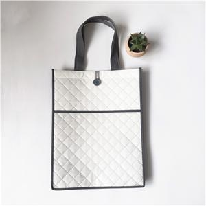 Customizable Pressed Laminated PP Non Woven Shopping Bag