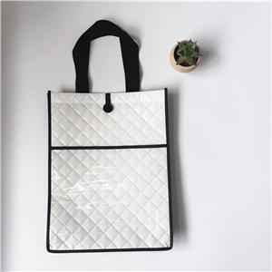 Customizable Pressed PP Laminated non woven tote bag