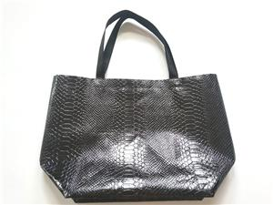Wholesale Snakeskin Pattern Preservable Non Woven Tote Bag