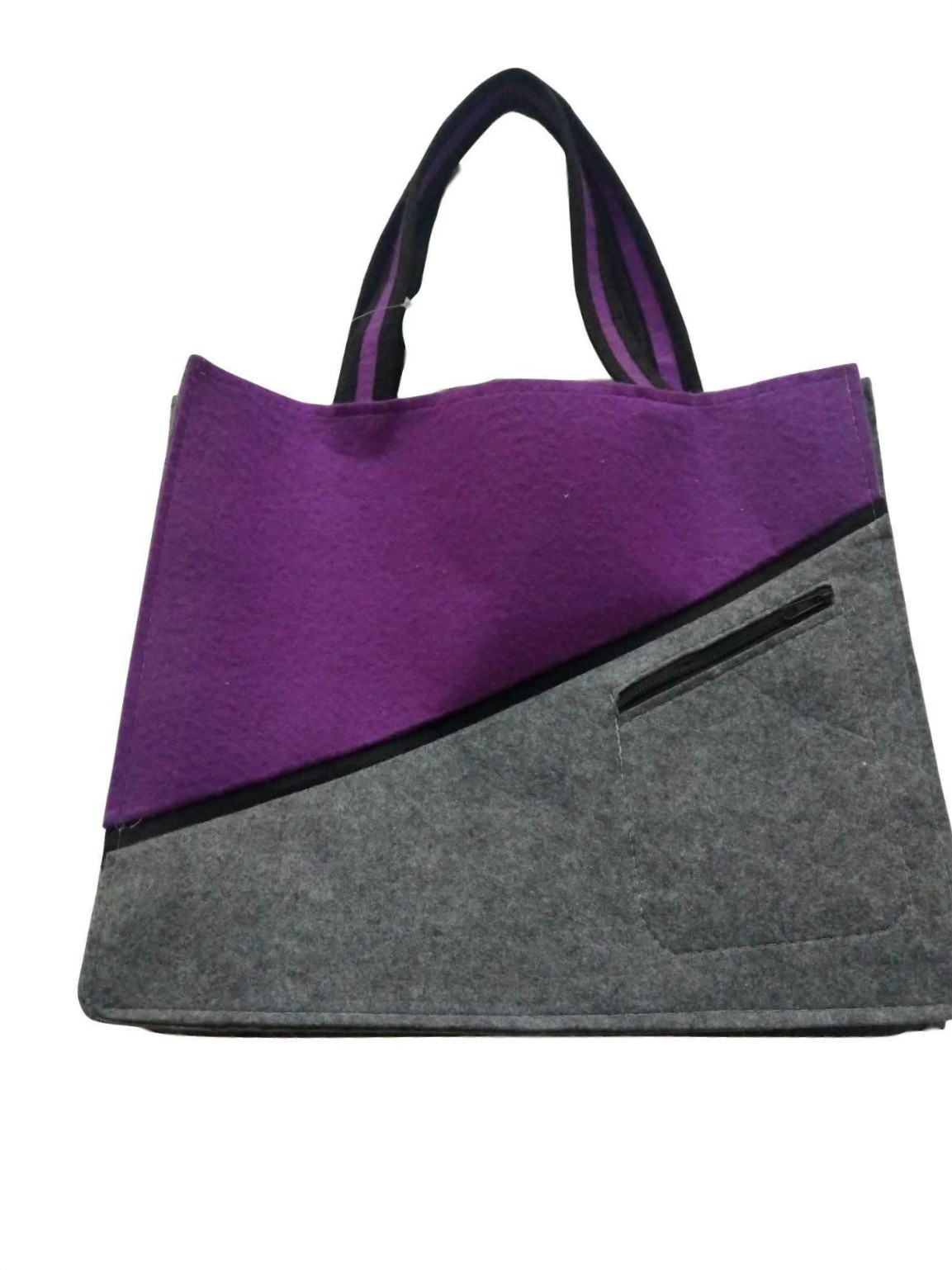 Wholesale Latest Design Reusable Fashion Felt Cloth Bag for shopping, Latest Design Reusable Fashion Felt Cloth Bag for shopping Manufacturers, Latest Design Reusable Fashion Felt Cloth Bag for shopping Producers