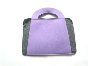 Latest Design Reusable Fashion Felt Cloth Bag for shopping clothes