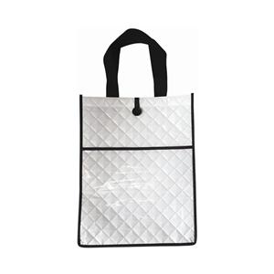 Customizable Embossed PP laminated nonwoven shopper bag