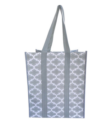 Wholesals Custom Logo Laminated PP Woven Shopping Bag