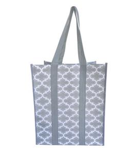 Wholesals Custom Logo Laminated PP Woven Shopping Bag